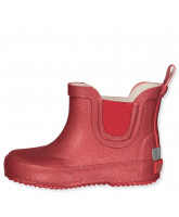 Red glitter wellies