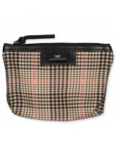 Gweneth Tartan mini toilet bag