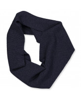 Navy tube scarf
