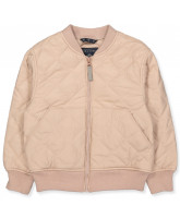 Mahogany rose bomber jacket