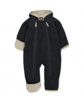 Navy fleece suit