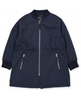 Navy softshell coat