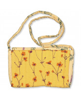 Golden apricot bag