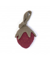 Organic activity toy - strawberry
