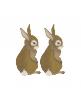 Wall sticker - hare baby 2 pcs