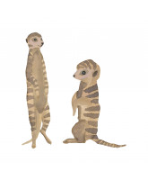 Wall sticker - Timon babies