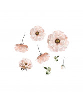 Wall sticker -  poppy