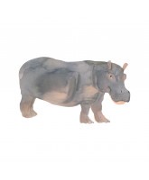 Wall sticker - Hippo