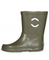 Olive green wellies