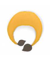 Organic ochre nursing pillow