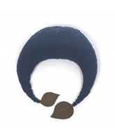 Organic blue nursing pillow