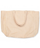 Alma powder stripe tote bag