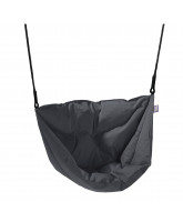 Grey Moonboat hanging chair