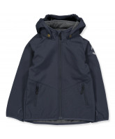 Blue softshell jacket