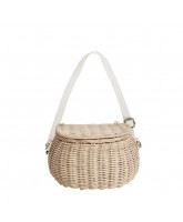 Straw mini Chari basket