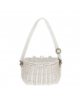White mini Chari basket
