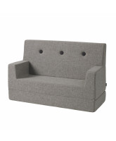Kids couch - multi grey