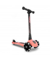 Highway Kick 3 LED scooter - Peach