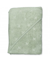 Organic Misty green baby towel
