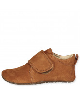 Camel slippers - suede