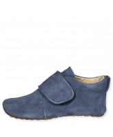 Jeans slippers - suede