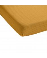 Ochre bed sheet