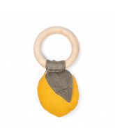 Organic teether - lemon