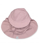 Rose grey sun hat