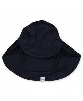 Deep navy sun hat