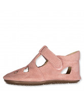 Rose slippers - suede