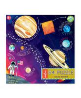 Puzzle 64 pcs - The solar system