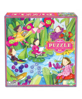 Puzzle 64 pcs - Fairies by the pond
