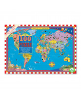 Puzzle 1000 psc - World map