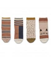 4 pairs Silas socks