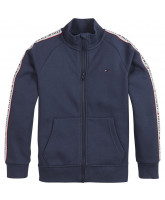 Navy zip jacket
