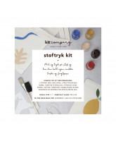 Textile printing DIY kit