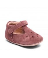 Plum slippers
