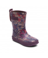 Flowered wellies