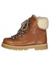 Shearling winter boots