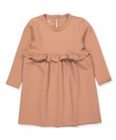 Sofia frill dress - soft sweat