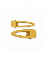 2 pack Sustainable hair clips - Golden