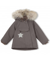 Wang winter jacket with fur