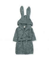 Organic bunny bathrobe