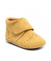 Mustard slippers