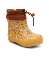 Mustard thermo winter wellies