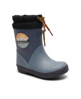 Blue thermo winter wellies