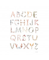 Poster - Alfabet 50x70 cm