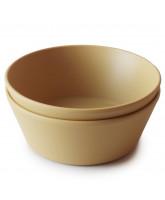 2 pack mustard bowls