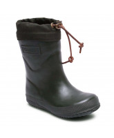 Green thermo winter wellies