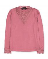 Pale rose LS t-shirt